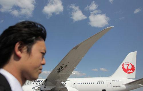 Boeing 787 авиакомпании Japan Airlines