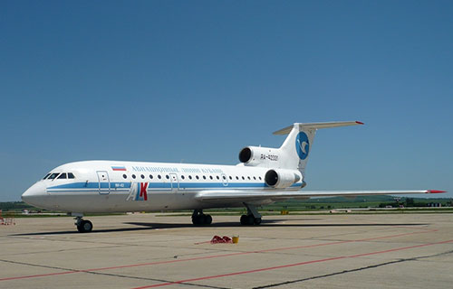 "Як-42 авиакомпании ""Кубань"""