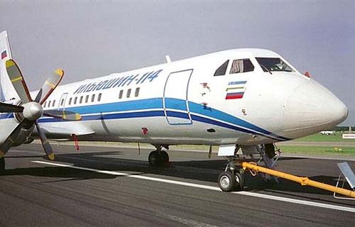 Российский самолет Ил-114