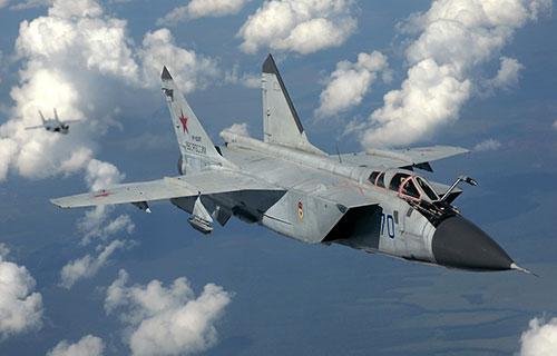 МиГ-31 ВВС России