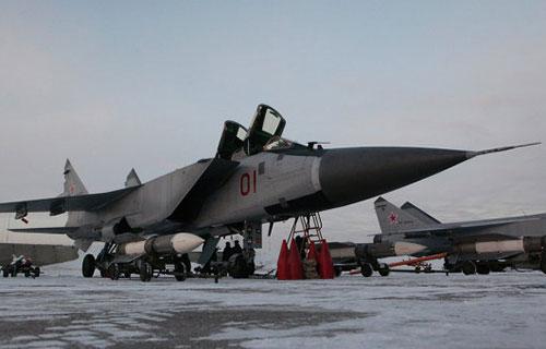 Миг-31БМ вооруженных сил РФ