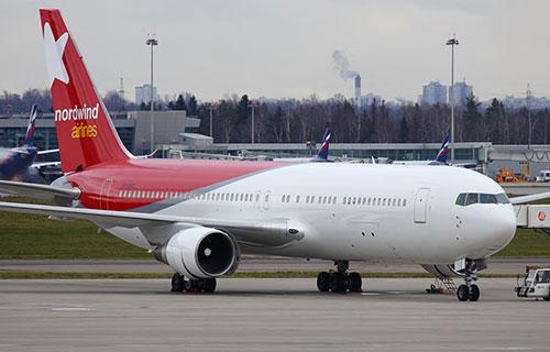 Boeing авиакомпании Nordwind Airlines