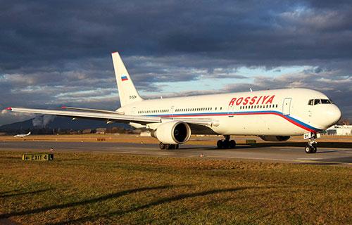 "Boeing 767-300 авиакомпании ""Россия"""