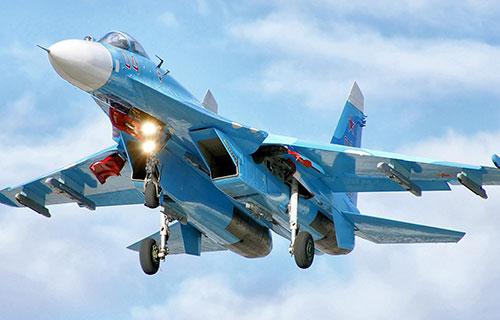 Су-27 вооруженных сил РФ