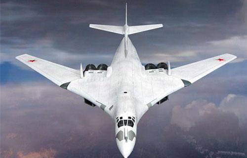Российский самолет Ту-160