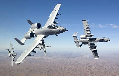 Американские штурмовики А-10