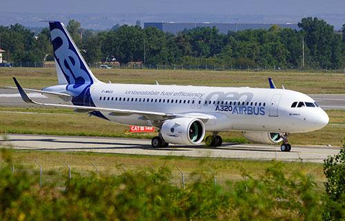 Узкофюзеляжный Airbus A320-NEO