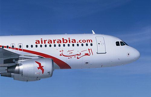 Самолет авиакомпании Air Arabia