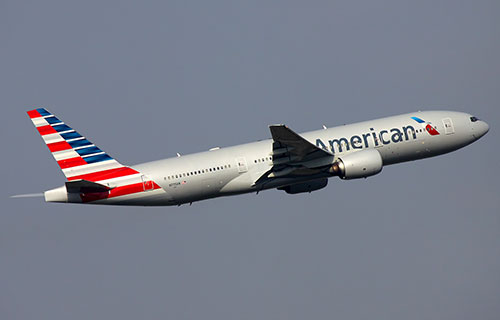 Boeing-777 авиакомпании American Airlines