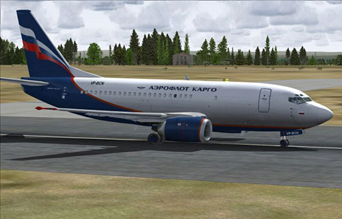 "Boeing-737 авиакомпании ""Аэрофлот"""