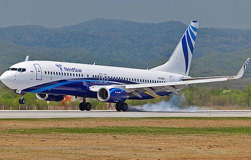 Boeing-737 авиакомпании Nordstar
