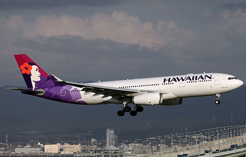 Airbus компании Hawaiian Airlines