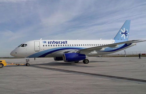 Superjet-100_авиакомпании Interjet