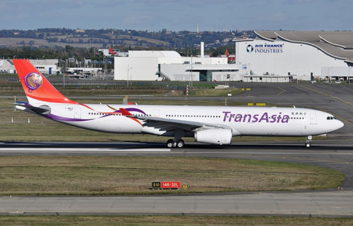 Airbus-A330 авиакомпании TransAsia Airways