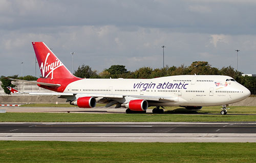 Boeing-747 авиакомпании Virgin Atlantic