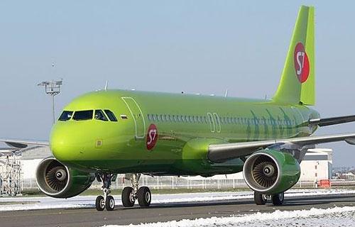 Airbus A-320 авиакомпании S7 Airlines
