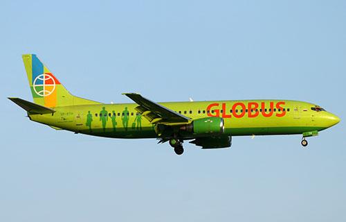 Boeing-737 авиакомпании Globus