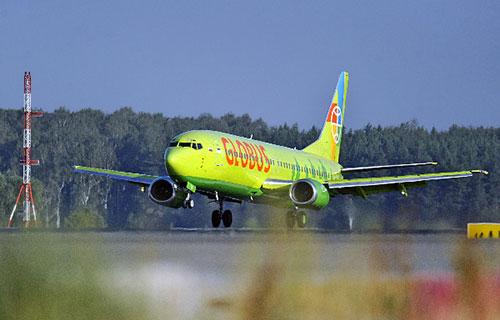 """Boeing 737-800 авиакомпании """"Глобус"""""""