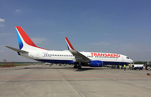 Boeing-737 авиакомпании Transaero
