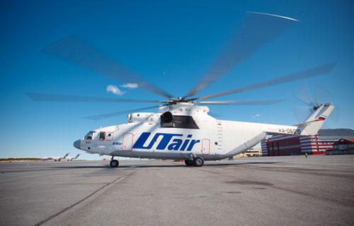 Вертолет МИ-26 авиакомпании Utair