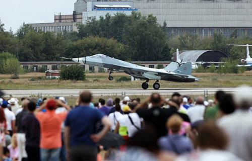 Новейший российский истребитель ПАК ФА