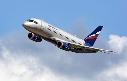 "SuperJet-100 авиакомпании ""Аэрофлот"""