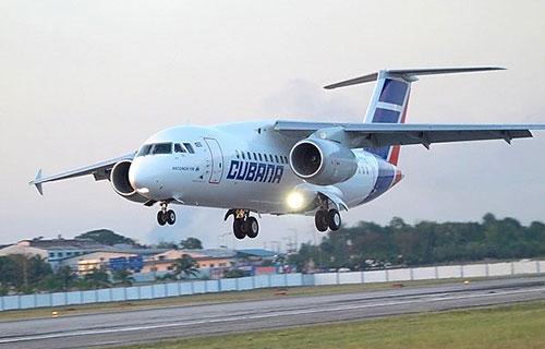 Ан-158 авиакомпании Cubana