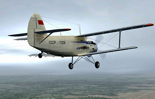 Советский самолет Ан-2