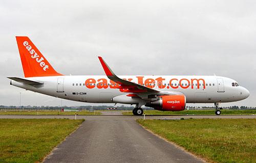 Airbus-320 авиакомпании EasyJet