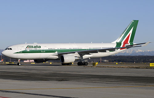 Airbus A330-200 авиакомпании Alitalia