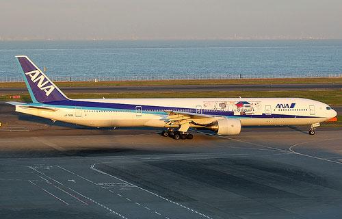 Boeing-777 японской авиакомпании All Nippon Airways