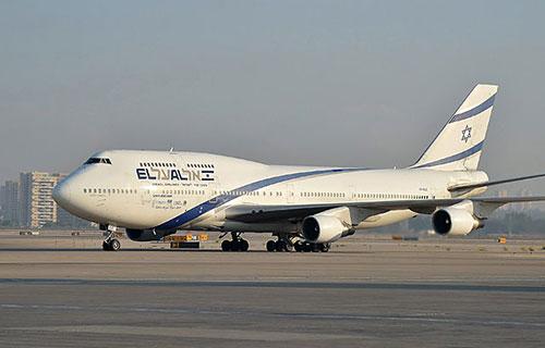 Boeing-747 авиакомпании El Al