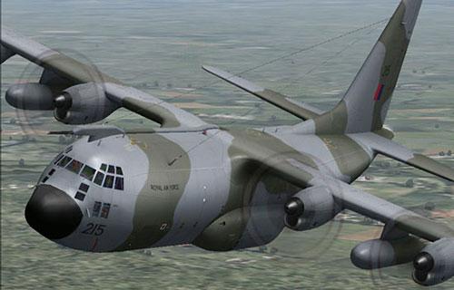 Военно-транспортный самолет Hercules С-130