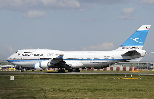 Boeing-747 авиакомпании Kuwait Airways