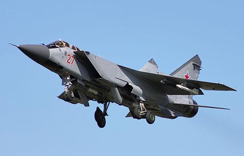 Российский истребитель МиГ-31