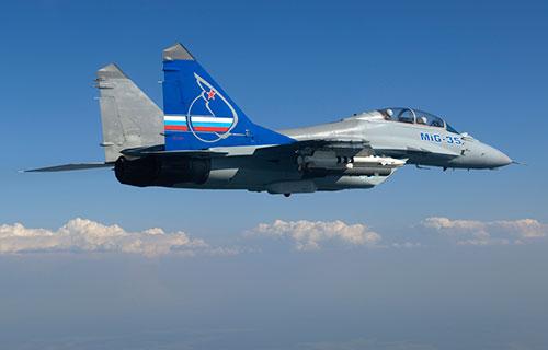 Российский истребитель MiG-35