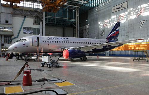 "SupetJet-100 авиакомпании ""Аэрофлот"""
