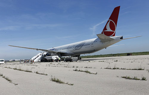 Boeing-777 авиакомпании Turkish Airlines