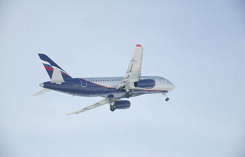 """Пассажирские SSJ-100 авиакомпании """"Аэрофлот"""""""