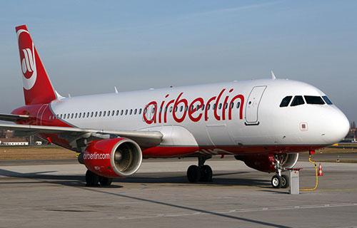 Самолет немецкой авиакомпании Air Berlin