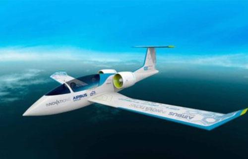 Электрический самолет Airbus