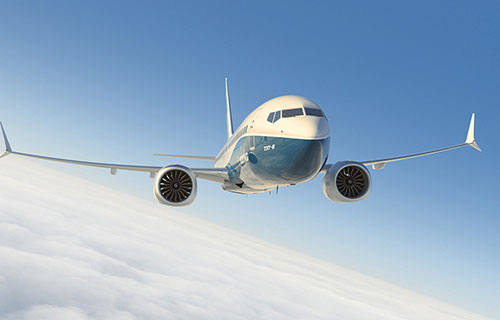 Пассажирский самолет Boeing 737 Max