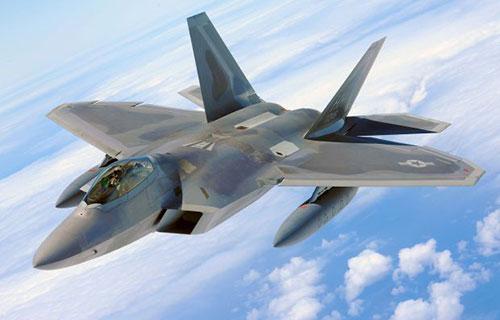 Американский истребитель F-22