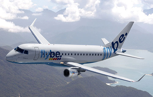 Самолет авиакомпании Flybe