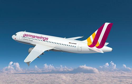 Самолет авиакомпании Germaniawings