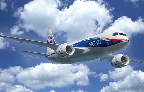 Новый пассажирский самолет МС-21