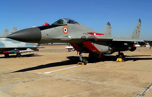 МиГ-29 ВВС Индии