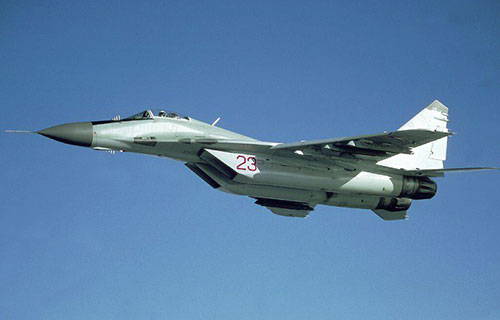 Российский истребитель МиГ-29