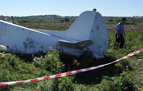 Крушение легкомоторного самолета в Ростове