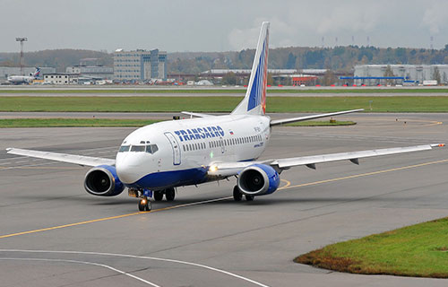 "Boeing-737 авиакомпании ""Трансаэро"""